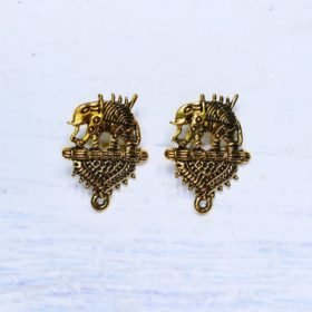Buy Antique Metal Bahubali Stud Online