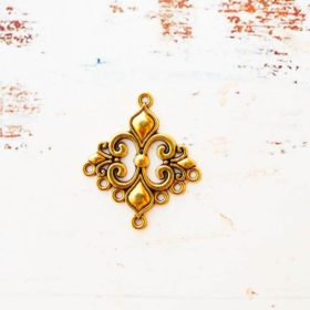 Antique Gold Charms 12
