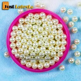 Pearl Beads - Round Shape - 6mm
