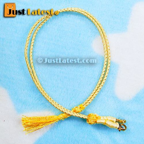 Gold Necklace Back Rope