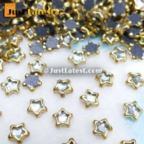 Kundan Stones Star Shape 6MM